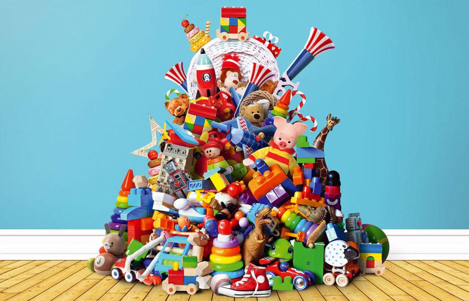 Spielzeug: weniger ist mehr