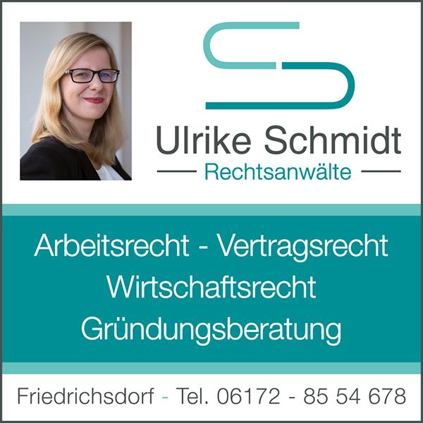 Anzeige der Kanzlei Ulrike Schmidt aus Friedrichsdorf