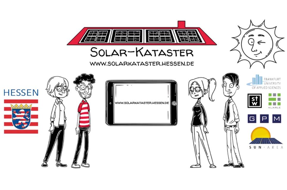 Grafik zum Thema Solar Kataster Hessen