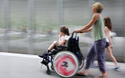 Kinder mit Handicaps