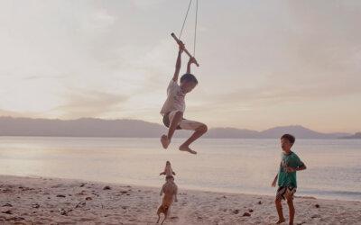 Kinder und Urlaubsreisen