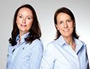 Stefanie Litsch und Dr. Luise Sauer