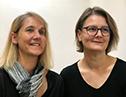 Britta Kratz und Elke Leipf