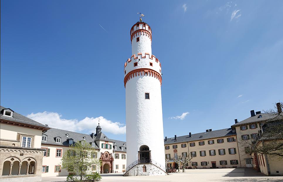 Schloss Bad Homburg vor der Höhe mit dem Weißen Turm